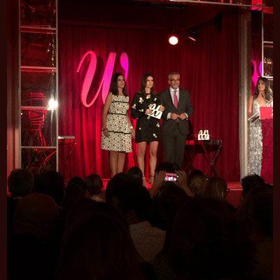 Rebeca Minguela premiada en la segunda edición de los Premios Woman