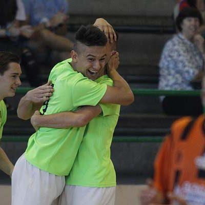 El FS Cuéllar juvenil goleó a un combativo Salamanca