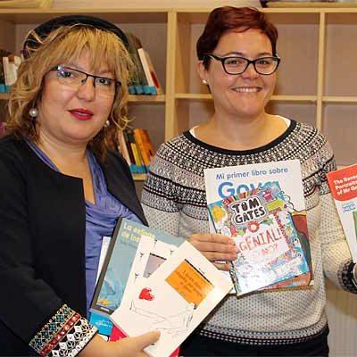 La Biblioteca Cronista Herrera cede ejemplares a las de los colegios del municipio