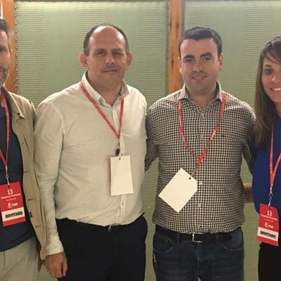 Tres miembros de la agrupación socialista de Cuéllar en la ejecutiva provincial