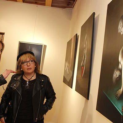 `Naturaleza muerta y otras realidades´, óleos de Virginia Villar en la sala de Las Tenerías