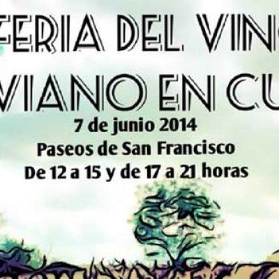 Cita enológica el sábado con la I Feria del Vino Segoviano en los Paseos de San Francisco
