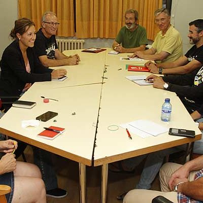La Asamblea Comarcal de IU trasladó a su Coordinador Provincial los problemas de la comarca