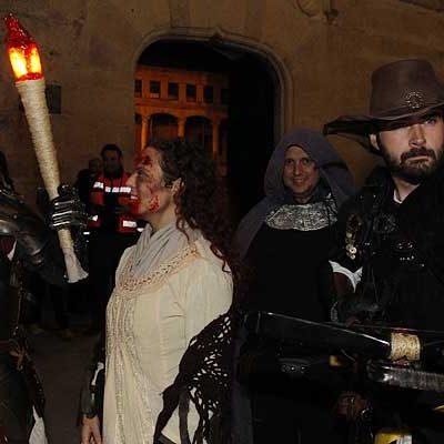 Terror en el Castillo para celebrar Halloween