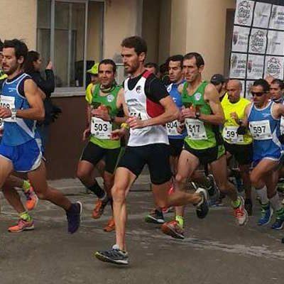 Importante actuación de Atletismo Cuéllar en la última prueba del circuito pedestre en Cabañas de Polendos