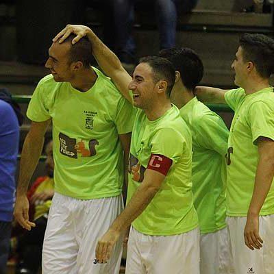 El FS Naturturpellet mostró acierto y superioridad ante el Santiago de Sama