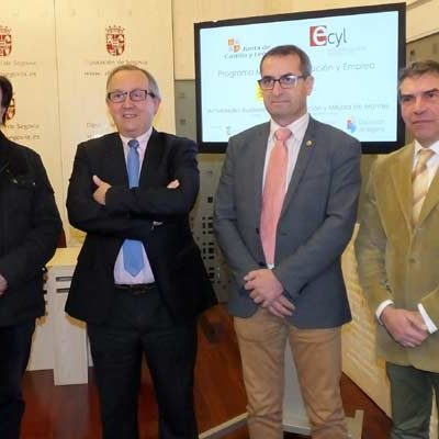 Cuéllar acogerá un programa mixto de formación y empleo en materia forestal organizado por Diputación y Junta