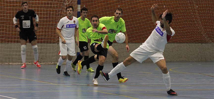 El FS Cuéllar cedió tres puntos en un choque igualado ante el Cidade de Narón