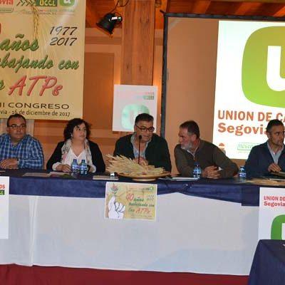 Juan Manuel Palomares seguirá al frente de Unión de Campesinos de Segovia que celebra su 40 aniversario