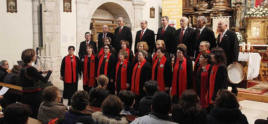 La Coral Cuellarana y la Banda Municipal celebran Santa Cecilia