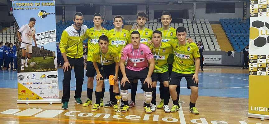 El eq8uipò juvenil del FS Cuéllar Cojalba se proclamó subcampeón en Lugo.