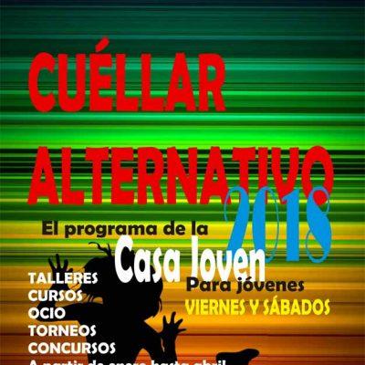 La Casa Joven pone en marcha su programa `Cuéllar Alternativo 2018´