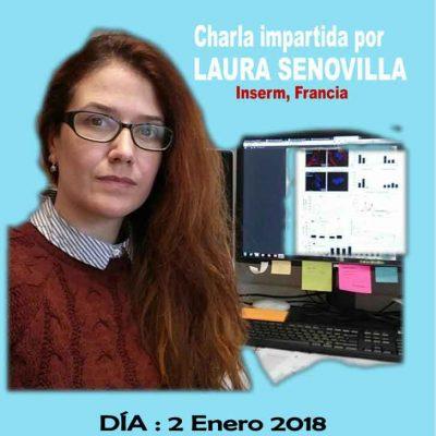 La cuellarana Laura Senovilla ofrece una charla sobre `Relación del sistema inmune en el cáncer´