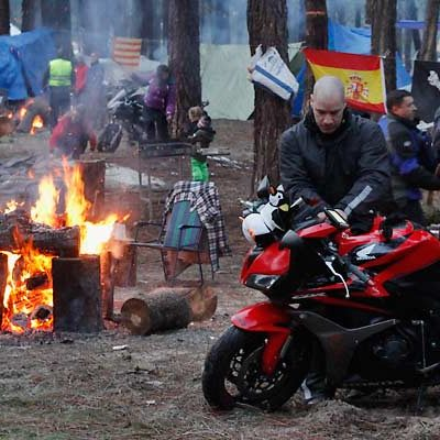 Las motos toman ya la ciudad de Cantalejo