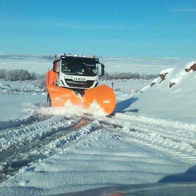 UCCL Segovia pide que se despejen carreteras y caminos con agilidad para no dejar municipios incomunicados
