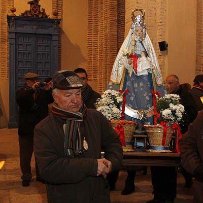 El barrio de San Andrés acogerá el sábado la procesión de la virgen de Las Candelas