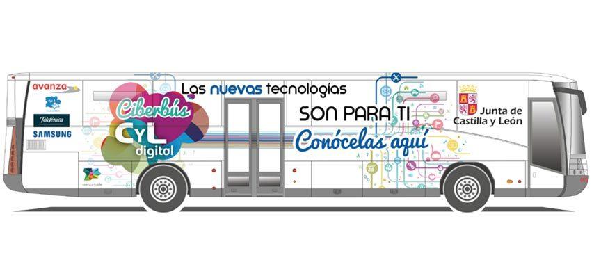 El Ciberbús CyL Digital enseñará el manejo de las nuevas tecnologías el 7 de marzo en Cuéllar