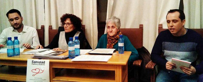 PSOE y Marea Blanca animan en Carbonero el Mayor a luchar por la Sanidad pública