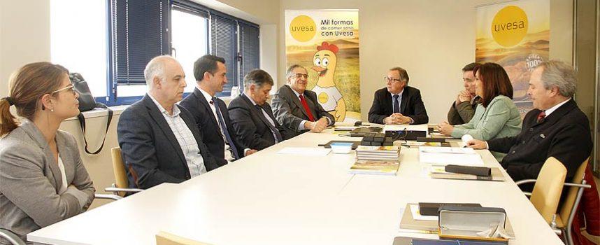 Uvesa invertirá en 2018 dos millones de euros en su planta de Cuéllar que cuenta ya con 560 empleados