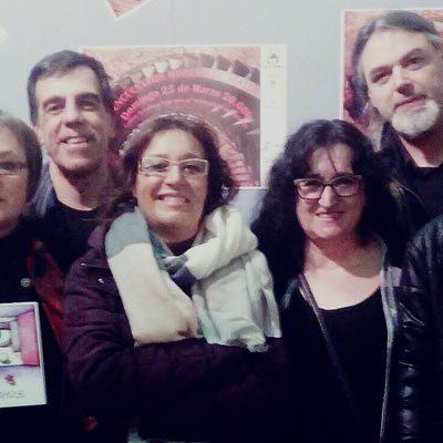 Gente Festeamus recoge su premio `Ñaque´  que reconoce la labor en equipo en su festival de verano