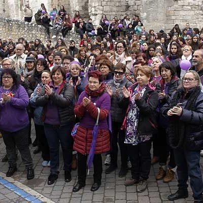 El colectivo feminista 8M de Cuéllar se suma mañana a las movilizaciones feministas