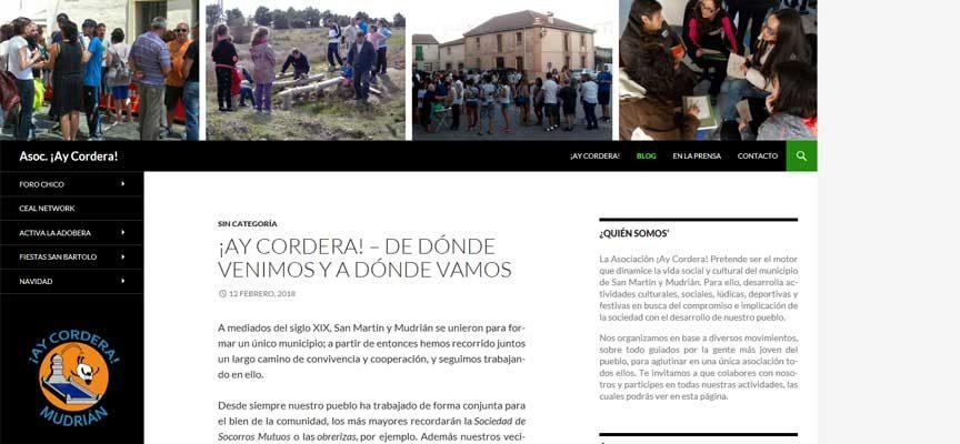 La Asociación Espacio La Adobera pasa a denominarse `¡Ay Cordera!´ tras su fusión con la comisión de fiestas de Mudrián