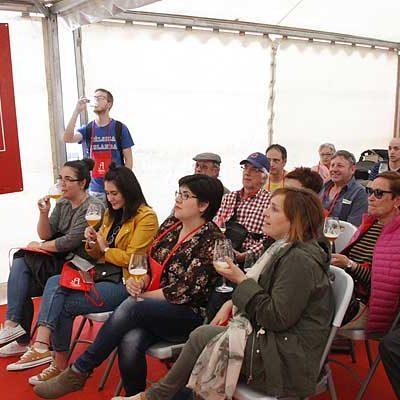 Las catas y degustaciones de Alimentos de Segovia volverán a estar presentes en la Feria de Cuéllar