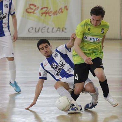 El FS Cuéllar juvenil luchó hasta empatar frente al Benavente