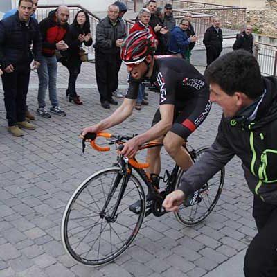 El arandino Ángel Gutiérrez logró su segunda victoria consecutiva en la Cronoescalada `Subida al Castillo´