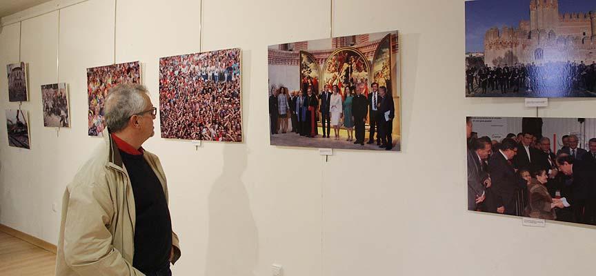 Algunas de las imágenes que pueden verse en la exposición.