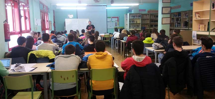 Honorse organiza un encuentro entre estudiantes de secundaria y empresarios dentro del proyecto `+Empresas+Empleo´