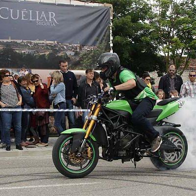 Las motos tomaran mañana Cuéllar en una nueva edición de la Concentración Motera