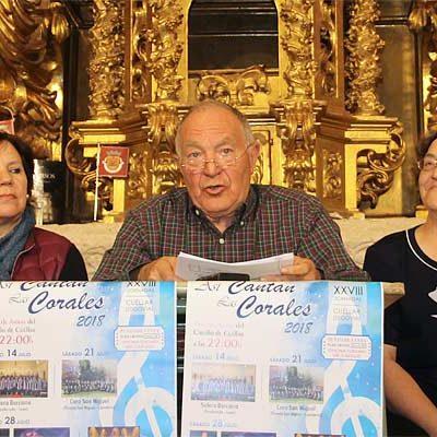 La música coral volverá al Patio de Armas del Castillo con el Festival `Así cantan las corales´