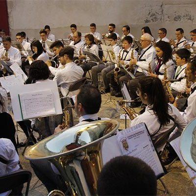El patio de armas del Castillo acogerá el `Concierto de Pasodobles´ de la Banda Municipal de Música