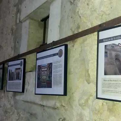 Una exposición y una conferencia recuerdan el paso del Rey Pedro I por Cuéllar