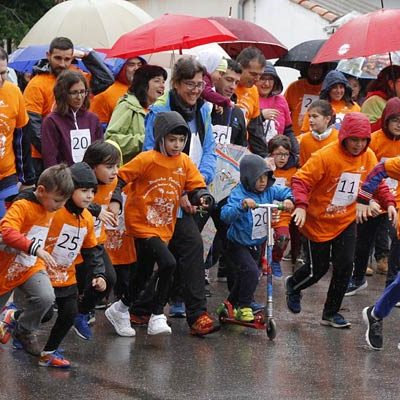 La lluvia marcó las fiestas del barrio de San Gil