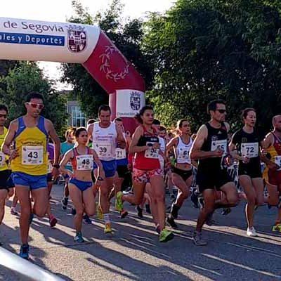 Mohamed Aloumat y Gema Martín, ganadores de la Legua de Fuenterrebollo