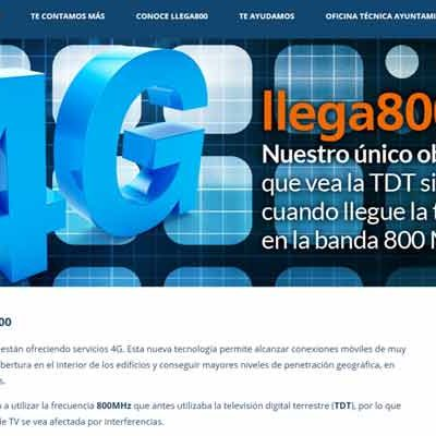 `Llega 800´ ofrece soluciones a los problemas en la recepción de la señal de televisión generados por la tecnología 4G