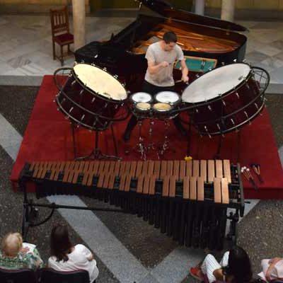 El cuellarano Andrés Montalvillo actuó en el Festival Joven MUSEG