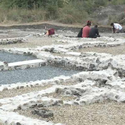Los trabajos en la villa romana de Santa Lucía en Aguilafuente sacan a la luz nuevas estancias del complejo residencial