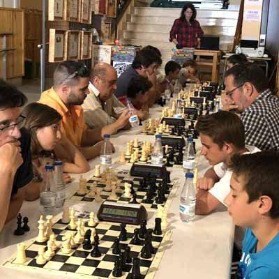 El madrileño Leandro García fue el ganador del Torneo de Ajedrez de Carbonero el Mayor