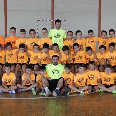 La Escuela de Talentos GR9 arranca su primera semana en Cuéllar con cuarenta niños