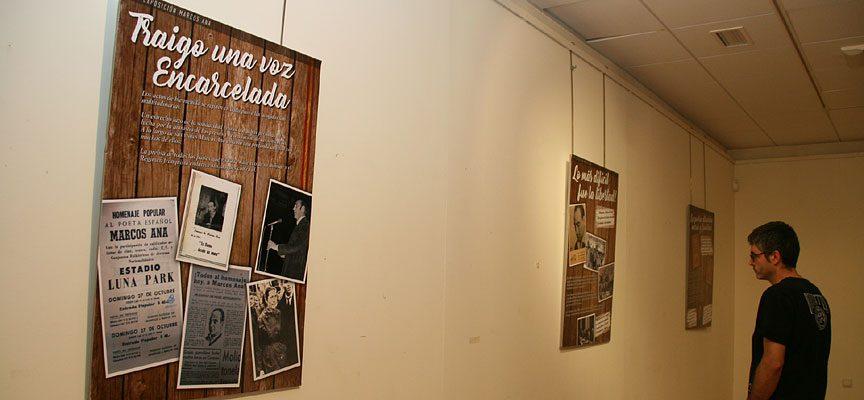 Una conferencia clausurará la exposición `Marcos Ana. Hacia mis años libres´