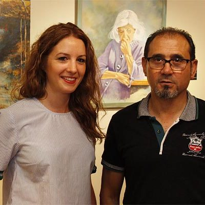 Mercedes Muñoz y Jesús Calvo comparten espacio en Las Tenerías con la exposición `Contrastes´