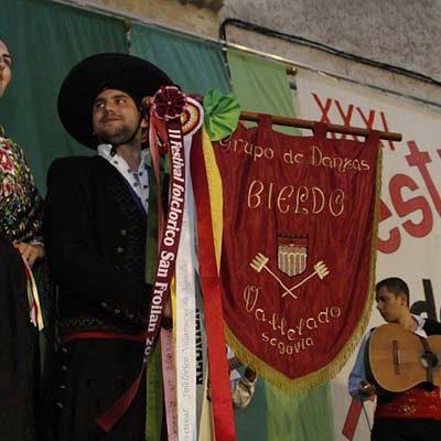 La música tradicional volvió a brillar en el Festival del Ajo de Vallelado