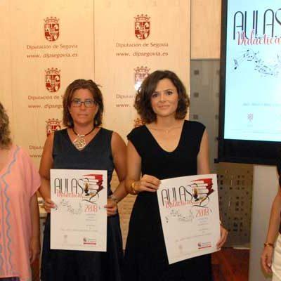 Cuéllar acogerá la última de las Aulas Didácticas de danza y música tradicional de la Diputación