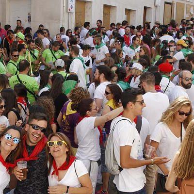 Actividades infantiles y populares llenan las calles de Cuéllar en los días festivos