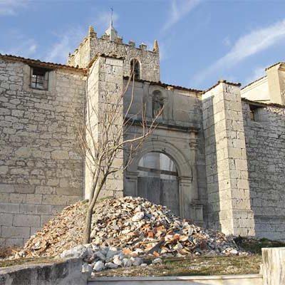 La iglesia de San Juan Bautista de Las Fuentes ha sido incluída en la Lista Roja del Patrimonio