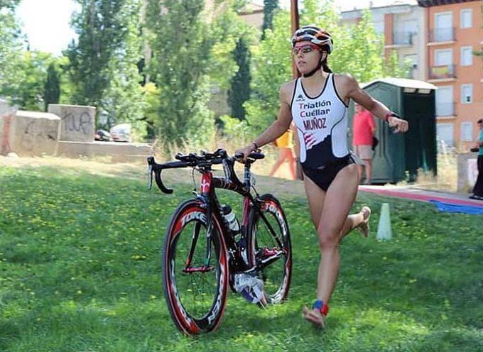 Marina Muñoz entra en la selección regional de triatlón para el Campeonato de España