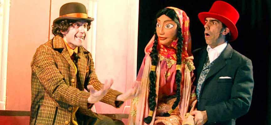 Teatro Mutis abre las actividades infantiles de fiestas con `La vuelta al mundo en 80 días´